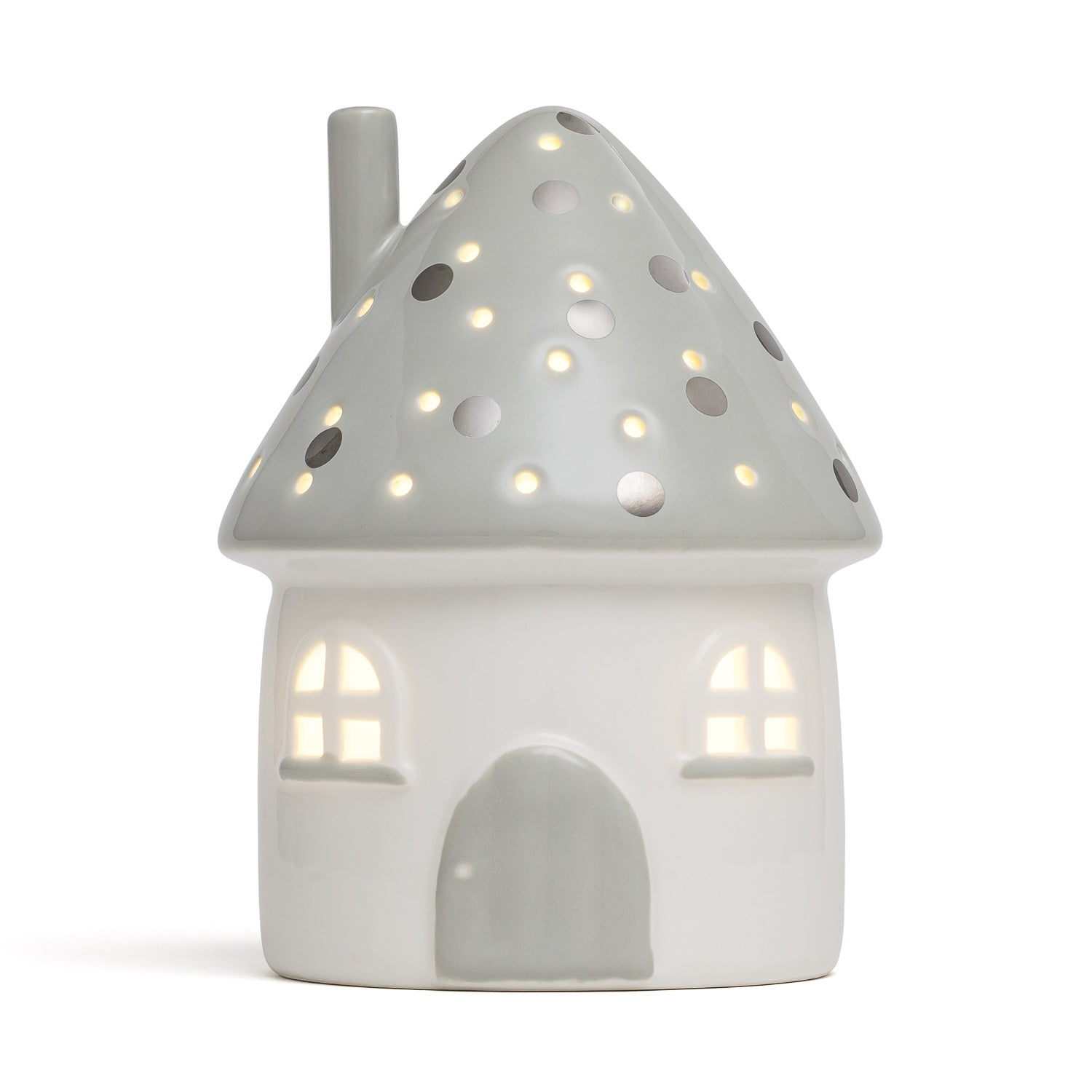 Elfin House Nightlight Grey AU