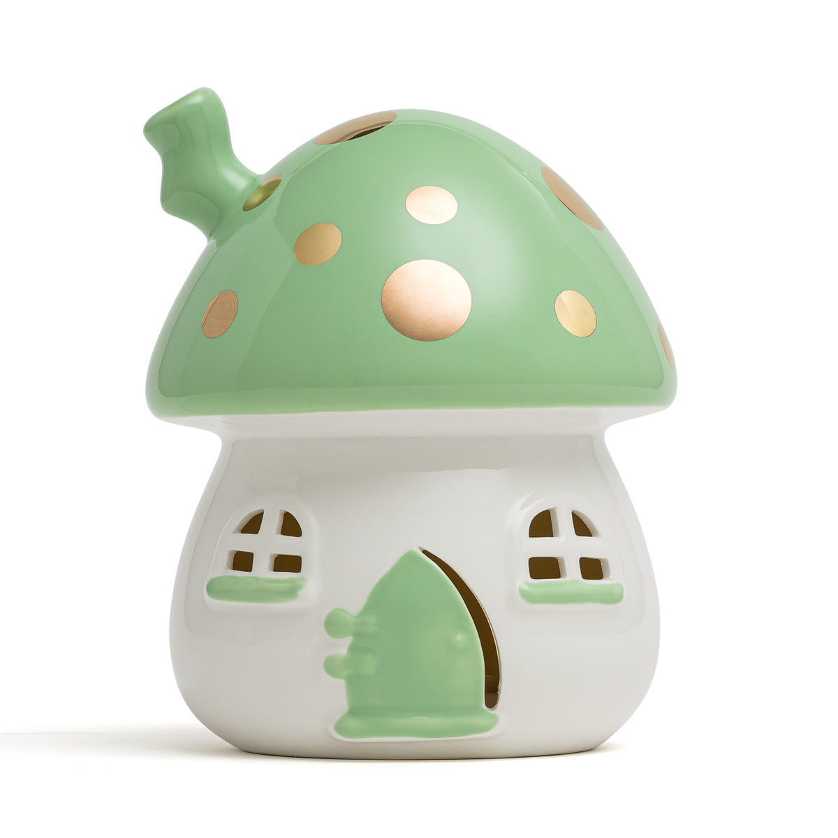 Fairy House Nightlight Green Handmade AU