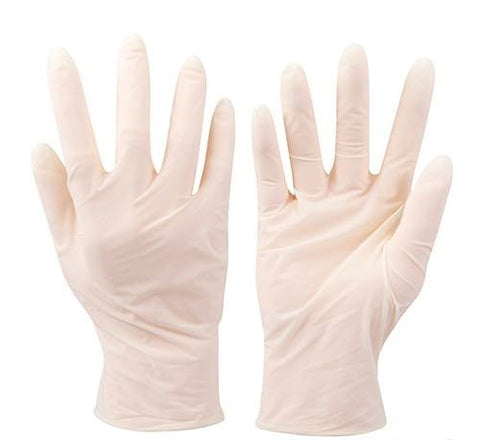Disposable Latex Gloves 100 Pack