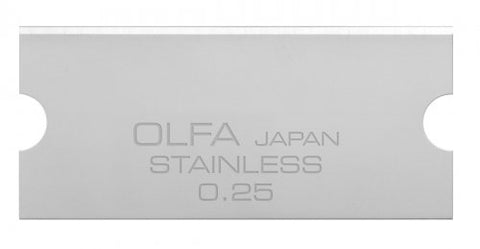 Olfa 40mm Stainless steel replacement blades for GSR-2 Pack of 6