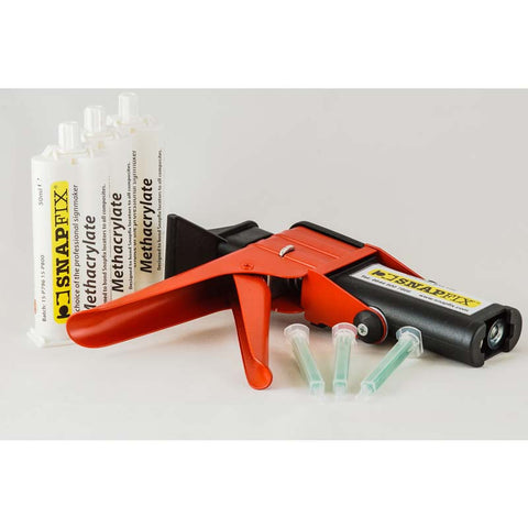 Package Deal: 1x Glue Gun, 3x Two Part Glue, 5x Nozzles