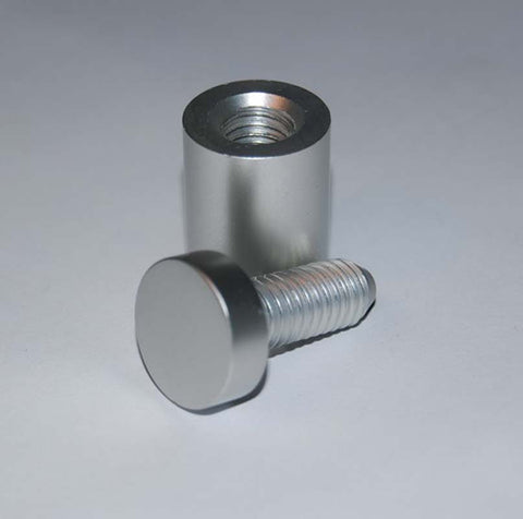Barrel Fixings Available in 3 Finishes
