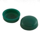 Snapcaps Screw Covers & Flat Bottom Washers Forest Green 6/8 Gloss - Pack of 25