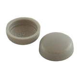 Snapcaps Screw Covers & Flat Bottom Washers Light Grey 6/8 Gloss - Pack of 25