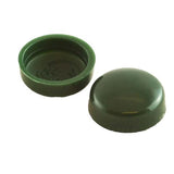 Snapcaps Screw Covers & Flat Bottom Washers Heritage Green 6/8 Gloss - Pack of 25