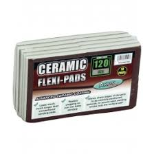 Ceramic Flexi Pad Double Sided (120 Fine) Pack of 10