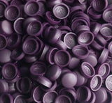 Snapcaps Screw Covers & Flat Bottom Washers Aubergine 6/8 Gloss - Pack of 25