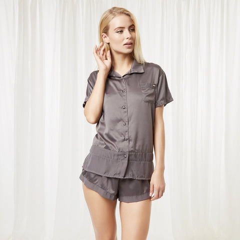 Sophie Shirt and Short Grey