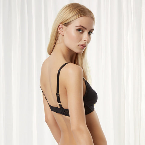 Laura Soft Cup Bra Black