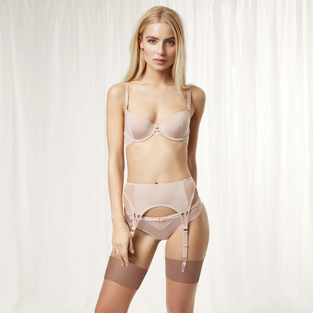 Laura Suspender Rose Dust