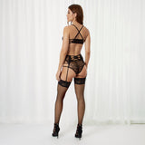 Arabella Suspender Black