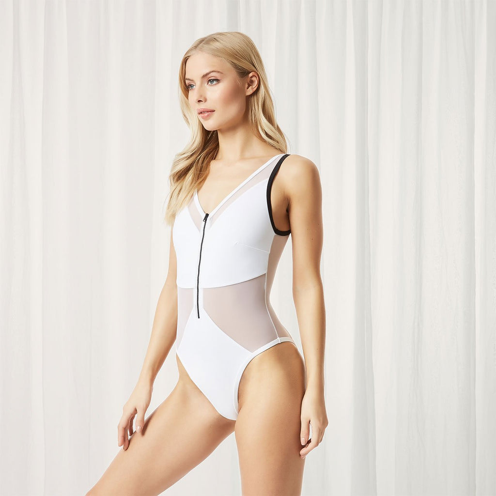 Catalan Swimsuit White