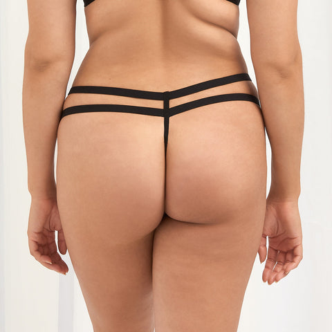 Orion Thong Black