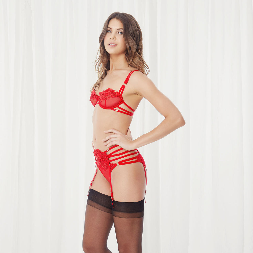 Julienne Brief Red