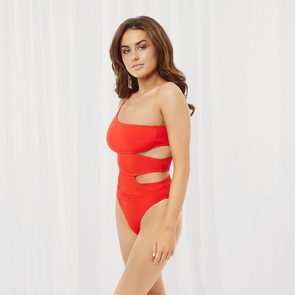 Samar Swimsuit Coral