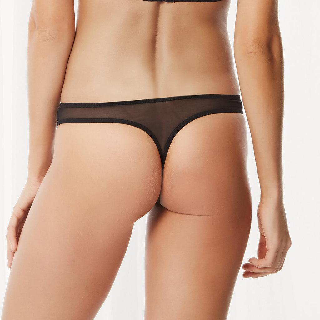 Addison Thong Black