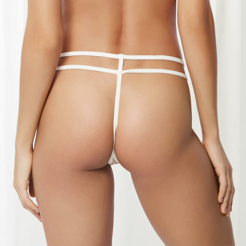 London Thong White