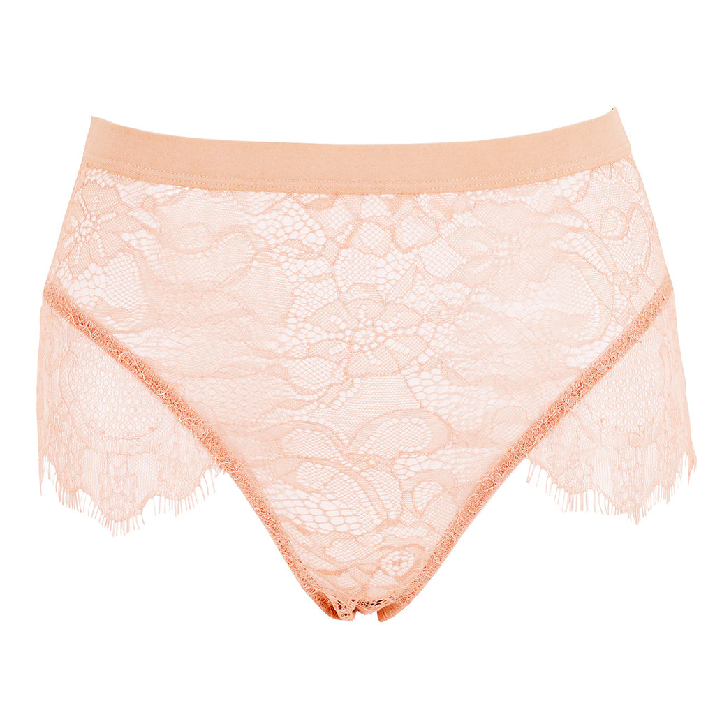 Tallie High Waist Brief Rose Dust