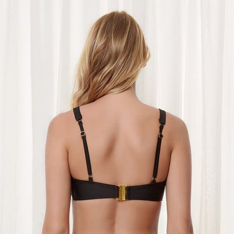 MORE Timor Wired Bikini Top Black