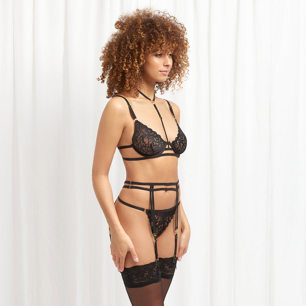 Leta Suspender Black
