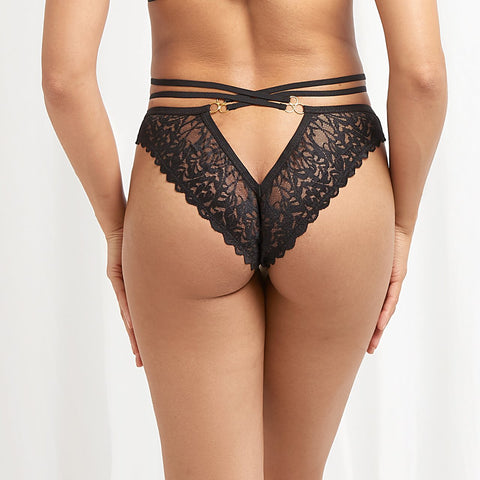 Leta Brief Black