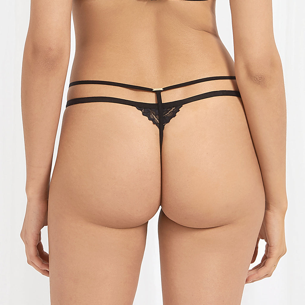 Kaia Thong Rose Dust/Black