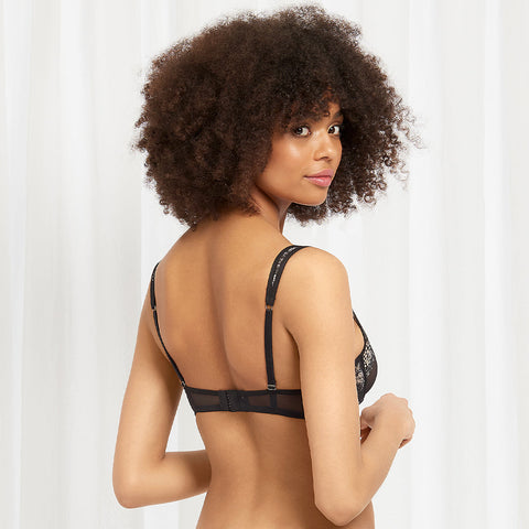Lina Bra Black/Rose Dust