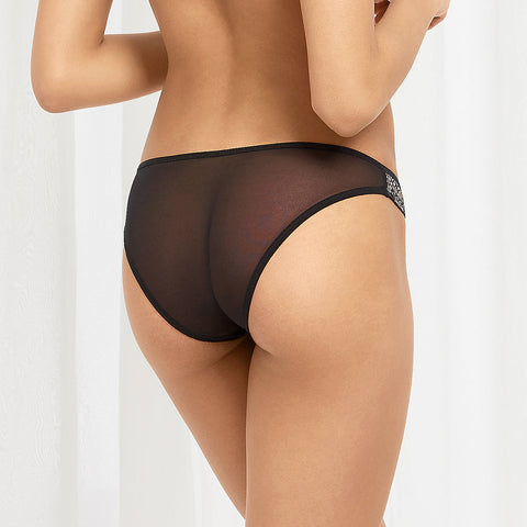 Lina Panty Black/Rose Dust