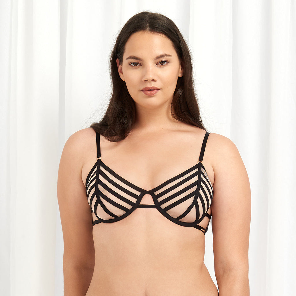 London Bra Rose Dust/Black