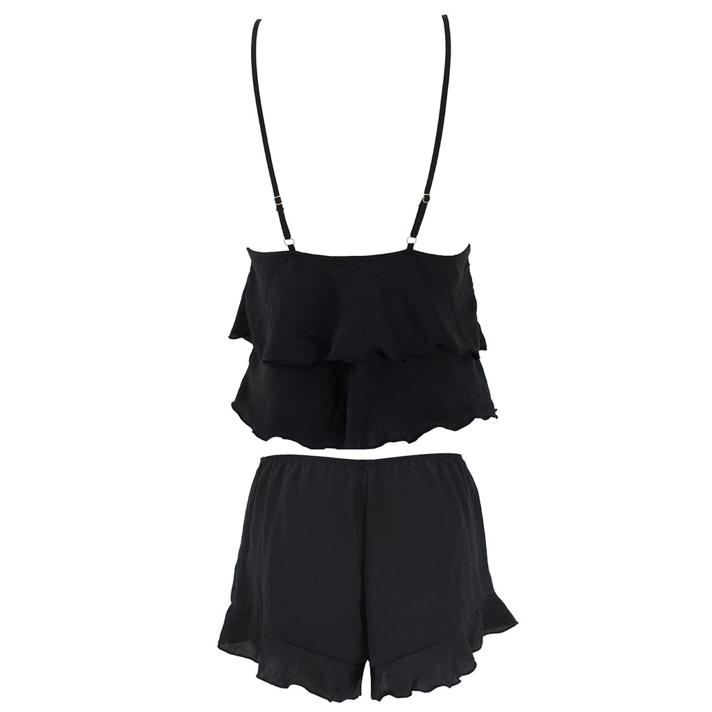 Annalie Cami and Short Set Black