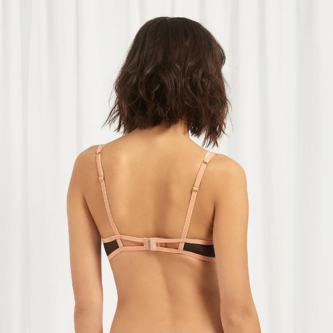 Aurora Bra Terracotta/Black