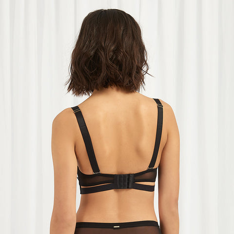 Elisabetta Bra Black/Rose Dust