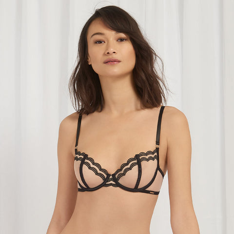 Carlotta Bra Rose Dust/Black