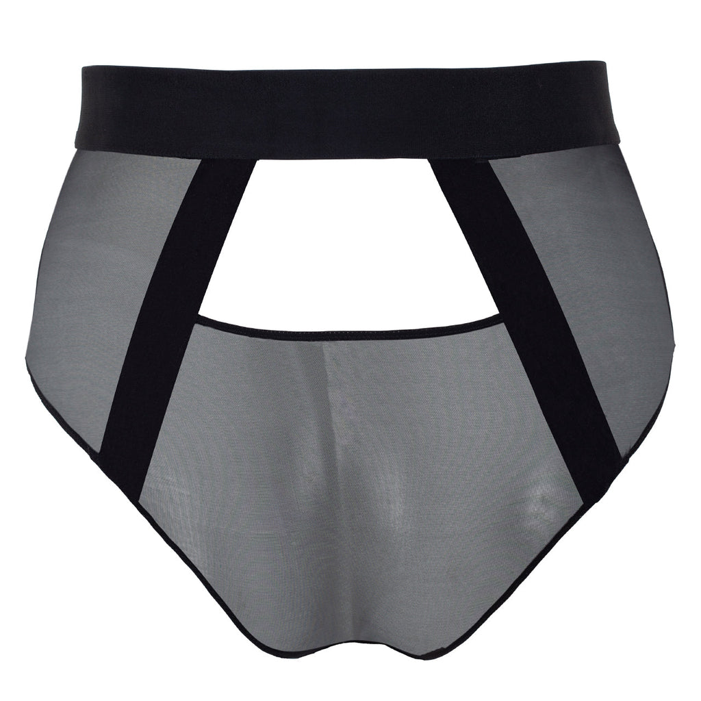 Hale High Waist Panty Black