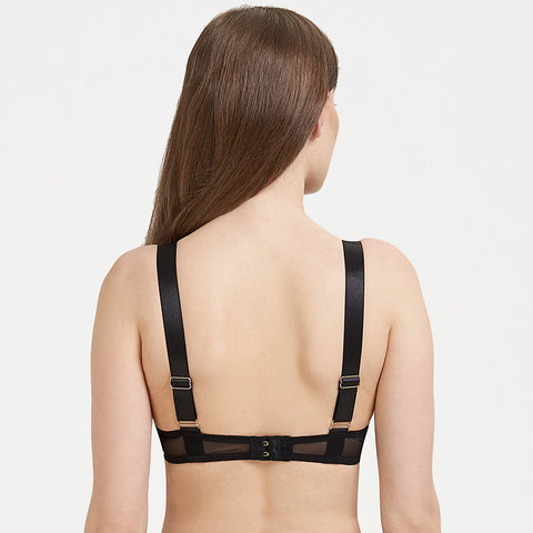 Sawyer Bra Black