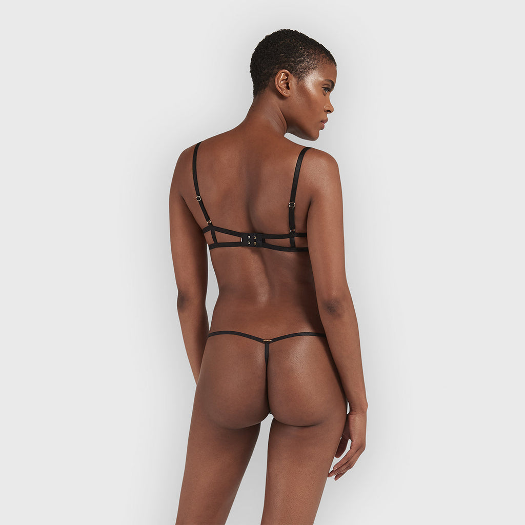 Tallis Thong Black