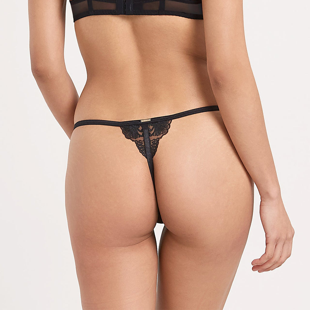 Marseille Thong Black