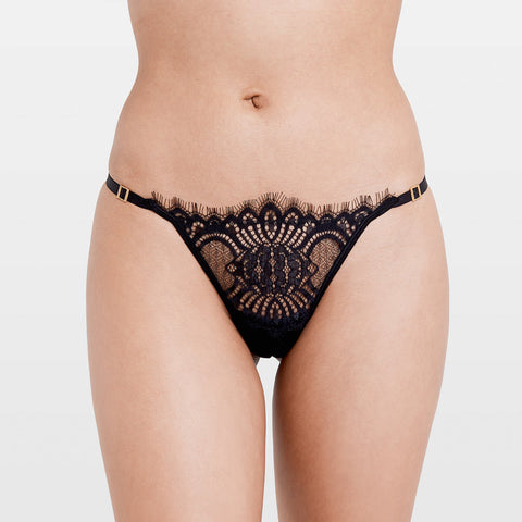 Fenella Thong Black