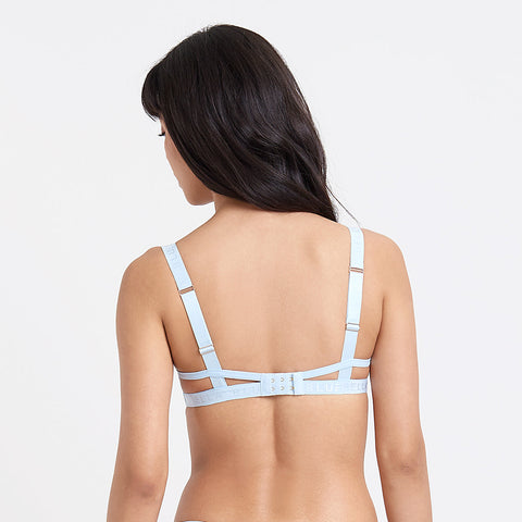 Lilia Bra Powder Blue