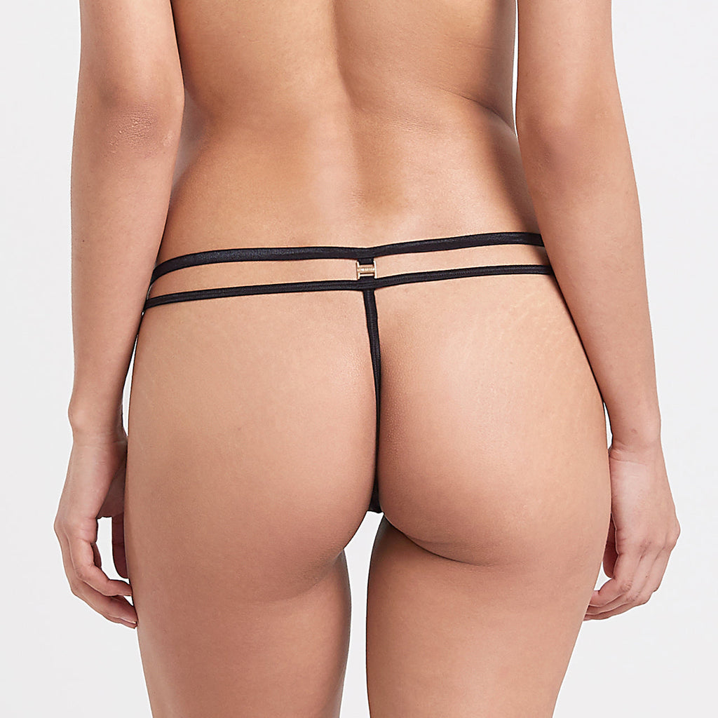 Amina Thong Black