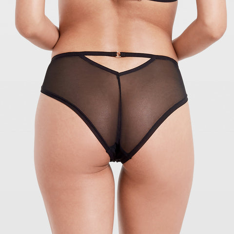 Milana High-waist Panty Black