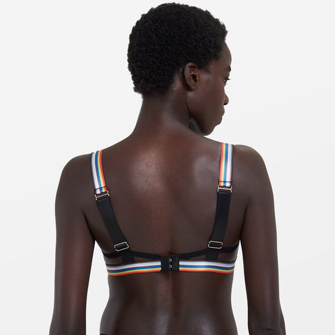 Marlowe Bra Black/Rainbow