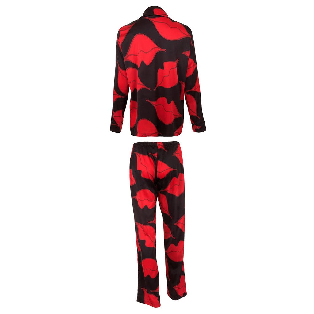 Lola Shirt and Trouser Set Red
