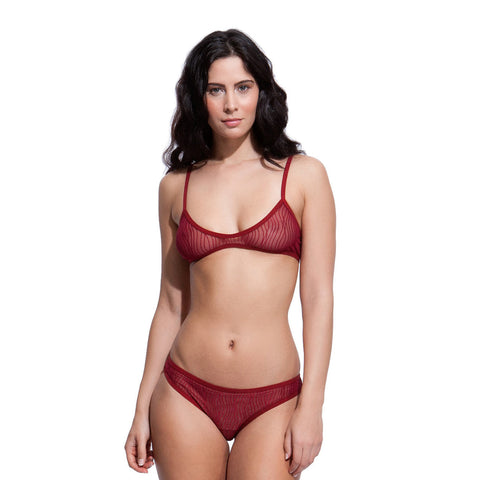 Erin Bra Set Red
