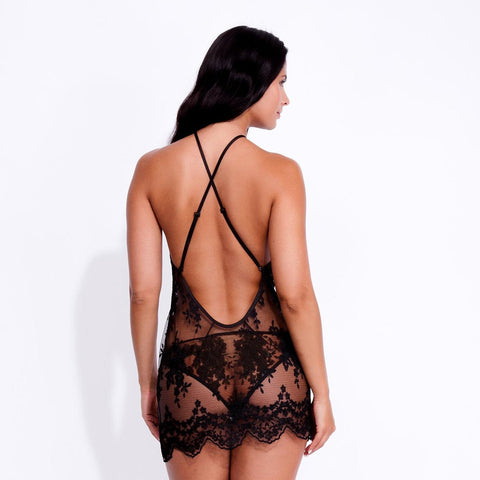Julianna Chemise Black
