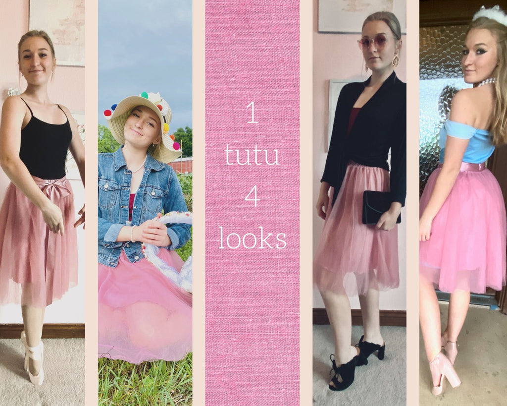 4 Ways to Wear a Tutu