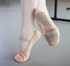 Ballet Shoes with Full Suede Sole