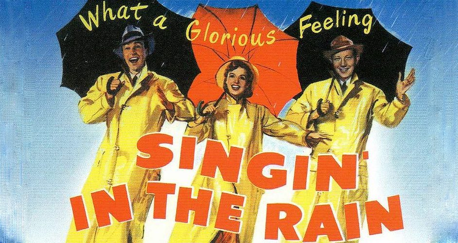 Singing In the Rain Movie Poster