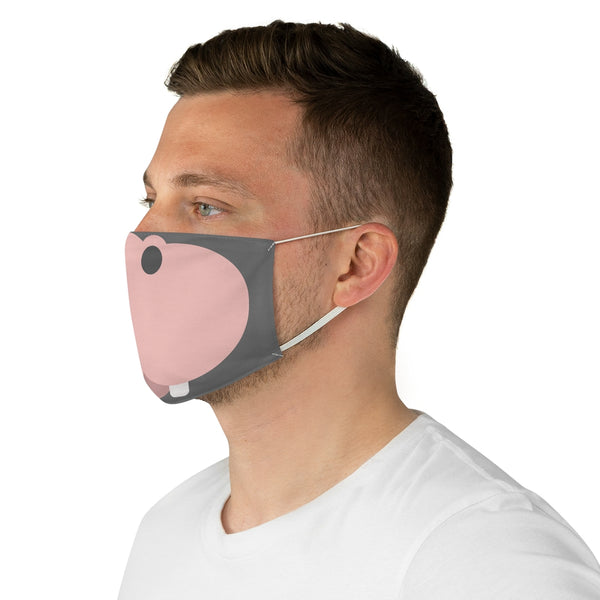 "Dancina Halloween ""Hippo Gloria"" Face Mask"