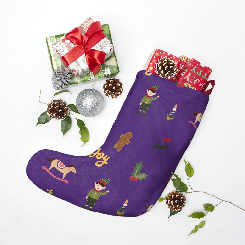 "Christmas ""Joy & Elf"" Stockings"